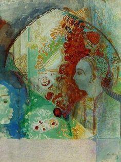 Odilon Redon「The Dream」
