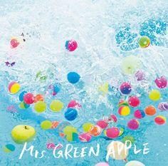 Sprinkles, Apple, Wallpaper, Green, Sumika, Design, Lyrics, Music, Poster