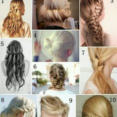 Beautiful different styles