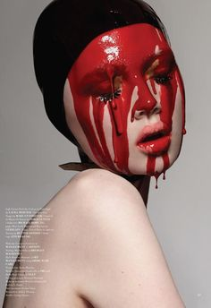 mask layer: samantha gradoville and holly rose by donna trope for under the influence aw14