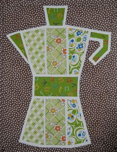 Coffee pot for Penny (sewtakeahike) by Lynne @ Lilys Quilts, via Flickr