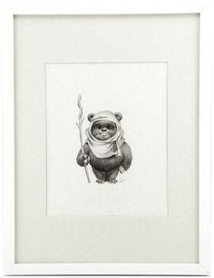 """Ewok 001"" by artist Joy Ang"