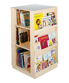 Another great find on #zulily! Four-Sided Bookcase #zulilyfinds
