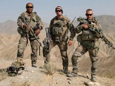 French Legionnaires in Afghanistan. An extremely professional bunch that were a pleasure to work with while in the mountains.