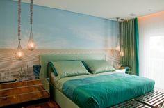 Apartamento Colorido - Depois (De Brunete Fraccaroli Arquitetura e Interiores)