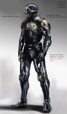 Robocop concept art by Ed Natividad
