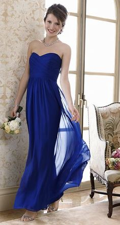 beautiful silk #bridesmaid gown  http://rstyle.me/~25DFZ