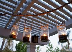 Between furnishing, lighting, and decorating your patio, porch, or deck, outdoor ambiance is anything but free—unless you DIY it. Complete one of these 19 upgrades to make an everlasting impression on your outdoor living area without making a dent in your wallet.