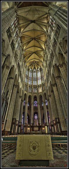 Cathédrale Saint-Pierre, Beauvais (Oise, France)