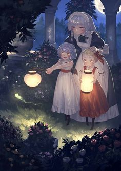 The Scarlet sisters looking super adorable!