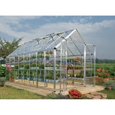 Palram Snap & Grow Series Hobby Greenhouse - x Silver Information The all new Snap and Grow greenhouses have been engineered from the ground up to get you growing quickly. It features the in