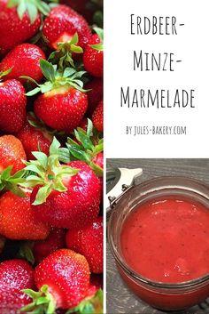 Es ist wieder Erdbeer-Zeit und ich finde ja, da passt meine Erdbeer-Minze-Marmelade ganz hervorragend :-)