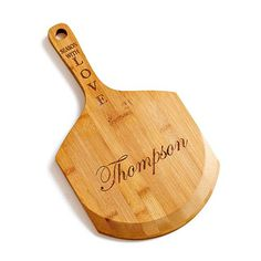 SEASON WITH LOVE PERSONALIZED PIZZA PADDLE - $25.00 available in two styles