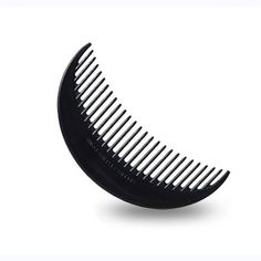 1PCS Black Fashion Moon-Shaped Hair Styling Comb Hair Brush Beauty Tools Cauda Equina Comb Easy Use Practical Convenient Beautiful Beauty Makeup Tools Cosmetic Accessory -- Learn more by visiting the image link.