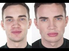 Male Make-up - Natural & Flawless   John Maclean - YouTube Starlooks has a new makeup Line for Men!