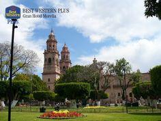 EL MEJOR HOTEL DE MORELIA. La ciudad de Morelia fue fundada por el Virrey Don Antonio de Mendoza, el 18 de mayo de 1541 y desde entonces, ha incrementado sus atractivos convirtiéndola en una de las ciudades más visitadas de nuestro país.  En Best Western Plus Gran Hotel Morelia, le esperamos en sus próximas vacaciones para que se sorprenda con la belleza de la capital. http://www.bestwesternplusmorelia.com.mx