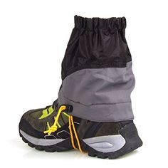 Dimart Unisex Snowproof Waterproof Ultralight Gaiters 1 Pair Black *** Continue to the product at the image link.Note:It is affiliate link to Amazon.