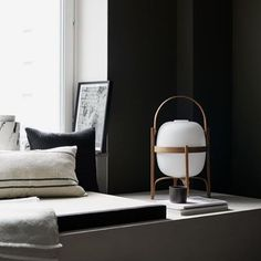 CESTITA table lamp by Miguel Milá, perfect reading companion.