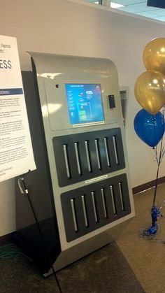 Laptop Lending Kiosk by Tom Ipri, via Flickr