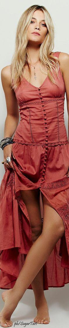 Boho chic bohemian boho style hippy hippie chic bohème @roressclothes closet ideas #women fashion outfit #clothing style apparel