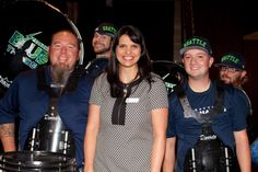 seattle blue thunder drumline pictures | ... of Seattle, with members of the Seahawks Blue Thunder drum line