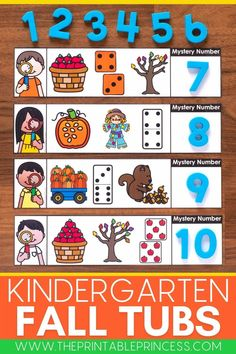 This adorable kindergarten fall math and literacy morning tubs resource include perfect beginning of year activities for students to practice letters, numbers, counting, ten frames, making 5, beginning sounds, editable name practice, editable sight words, fine motor, and more! Sight Word Activities, Autumn Activities, Hands On Activities, Kindergarten Activities, Kindergarten Morning Work, Kindergarten Centers, Kindergarten Classroom, Early Finishers Activities, Apple Coloring