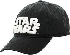 286cff194a2 Star Wars Logo Black Adjustable Cap Baseball Hat
