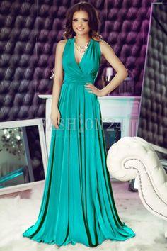 O rochie de ocazie mai potrivita decat modelul Turquoise Versatile de pe Fashion 24 nu vei gasi prea curand. Alege o rochie fina si delicata de seara | Fashion Pale Pink, Turquoise, Formal Dresses, Green, Hollywood, Outlet, Romania, Mall, Fashion