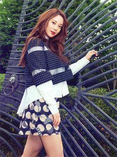 Princess Youngji for The Celebrity Kara Youngji, Heo Young Ji, Girl Group, Skater Skirt, Punk, Photoshoot, Princess, Celebrities, Womens Fashion