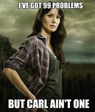 more Walking dead humor, oh Lori...