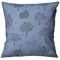 """Cushion Cover Made With Esme Pink Butterflies Laura Ashley Fabric 16"""" Scatter"""