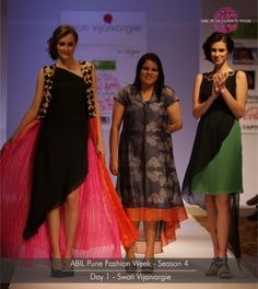 RANG the collection showcased by Swati Vijaivargie on the first day for ABIL Pune Fashion Week Season 4 Ladies Wear, Women Wear, Blue Bridal, Pune, Season 4, Ethnic, Fashion Show, Lady, How To Wear