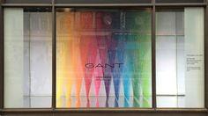 "GANT1949,London,UK, ""The Art of Colour"", creative by Harlequin Design,UK, pinned by Ton van der Veer"