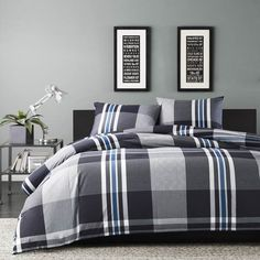 sleek and modern - perfect for a teen boy's bedroom or downtown city loft…