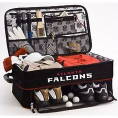 Atlanta Falcons Expandable Golf Trunk Organizer... Wouldn't want the falcons. But the trunk is nice.