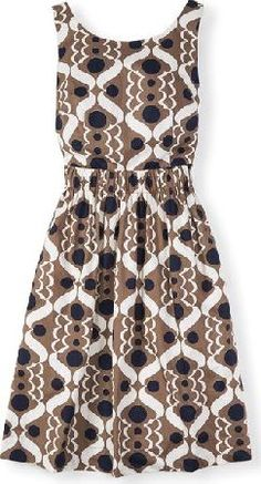 Boden Beatrice Dress Brown Boden, Brown 34652578 An easy everyday printed Spring dress with a full flippy skirt and elasticated cinched-in waist for a flattering and comfortable fit. http://www.comparestoreprices.co.uk/january-2017-9/boden-beatrice-dress-brown-boden-brown-34652578.asp