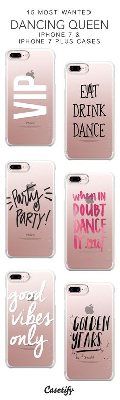 15 Most Wanted Dancing Queen Protective iPhone 7 Cases and iPhone 7 Plus Cases. More Party iPhone case here > https://www.casetify.com/collections/top_100_designs#/?vc=uECApCJYD9