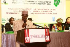 Stakeholders adopt final report on MDGs