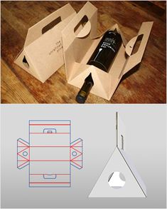 Rich box styles - Packmage Home Packaging Carton, Cardboard Packaging, Bottle Packaging, Box Packaging Templates, Box Templates, Diy Gift Box, Gift Boxes, Bottle Box, Packaging Design Inspiration