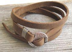 Liam-P Men's Bracelet Men Leather Bracelet Men's by Galismens