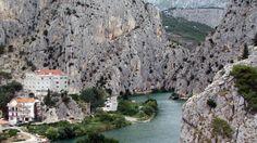 croatia landscape | ... Wallpapers Reef Omis Split Dalmatia Croatia Landscape Nature Hd City