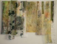 work by Cas Holmes - Along Peddlar's Way