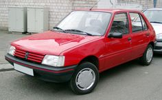 Peugeot 205, if you had the hot hatch GTi version then well done you.