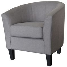 Madge Contemporary Fabric Accent Chair