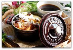 楽しいキッチン:【朝カフェ】パングラタンdeワンプレート