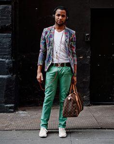 New York Street Style Photos by Ben Ferrari - Men's Street Style: Style: GQ  Brooklyn!