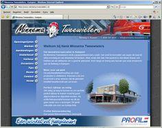 Fietsenzaak website
