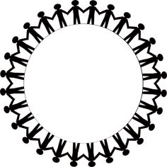holding hands clip art | Free Teamwork Clip Art Circle Diverse ...
