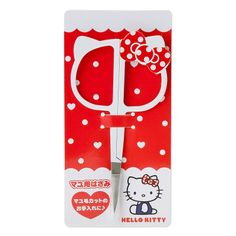 Hello Kitty face shaped eyebrows scissors Sanrio online shop - official mail order site