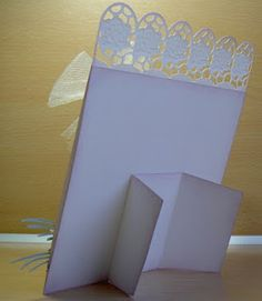 Easel stand on back of card for display...want to try this out...